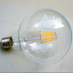 Регулируемый Vintage Глобус Эдисон лампу E26 светодиодный светильник с G80, G95, G125 светодиодная лампа накаливания лампа
