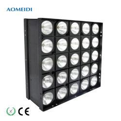 25 блока цилиндров теплый белый DMX LED Matrix Блиндер 5*5 вымыть эффект освещения сцены
