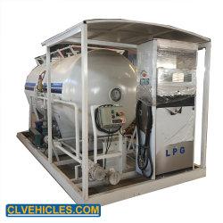 Chengli 두 배 분사구 분배기를 가진 가스 주유소를 요리하는 고압 12000L LPG 주유소