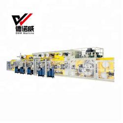 La más alta calidad China desechables totalmente automática I y T Baby Kids pañal Precio máquina de hacer papel