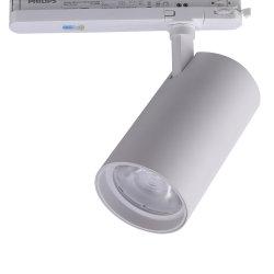 CREE/Citizen 옥수수 속 Ra>95 90lm/W 가볍게 치기 5 년 보장을%s 가진 자유로운 실내 상업적인 상점 천장 반점 점화 LED 궤도 빛