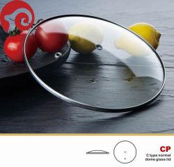 Het aangemaakte Deksel van de Pot van het Deksel van het Glas voor voor Keukengerei