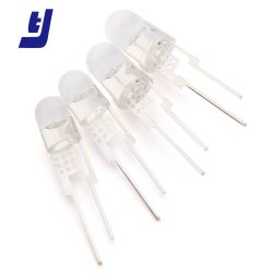 Luminosité extrême 1W 3W 2broches DIP ronde Diode LED de 5 mm