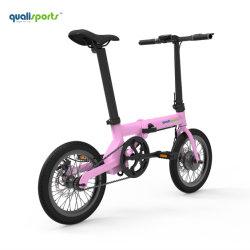 Cyclomoteur électrique 36V de la pédale de pliage vélo Vélo assez e les femmes