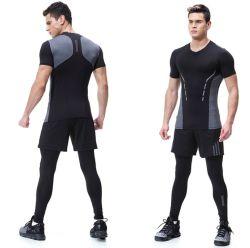 Respirant et Moisture-Wicking Fitness Training Shirt serré/Court Jersey/ pantalons