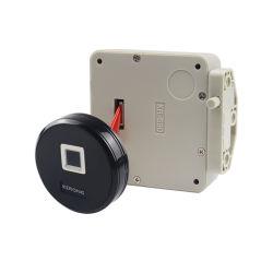 Serrure de sécurité KERONG Smart d'empreintes digitales pour armoire en acier biométrique électronique de commande à distance Gyam APP verrou pour sauna