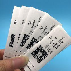 يبيع مطر [رفيد] مظهر قماش تعليق بطاقة إشارة بطاقة لباس داخليّ عنبة علامة مميّزة بطاقة