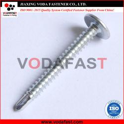 Vodafast oblea grande Collar cabeza redonda con la cabeza de perforación automática el tornillo C1022 con cincado-1