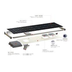 Puce de haute qualité 150W à LED IP65 Rue lumière solaire