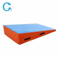 Mat van uitstekende kwaliteit van Trumbling van de Mat van de Wig van de Gymnastiek van het Spel van de Activiteit van de Mat van het Spel van de Oefening van de Helling de Vouwbare