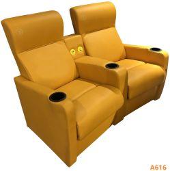 С откидной спинкой кинотеатр диван для гостиной современное кресло, диван возлежащий чистого из натуральной кожи
