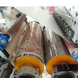 Пластиковый Julide механизма УФ покрытие ПВХ мраморным лист настенной панели машины принятия решений