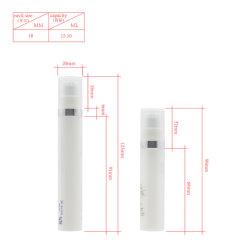10мл шелк трафаретная печать косметической упаковки флакона Airless Пластмассовые изделия