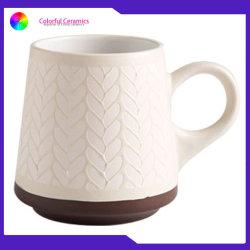 Le tazze di caffè su ordine progettano il vostro proprio insieme su ordinazione degli articoli per la tavola di Stonewere delle tazze di marchio della tazza di corsa