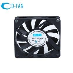 70x70x10mm Ventilador de refrigeración del equipo motor DC, Ventilador Axial de radiador el radiador