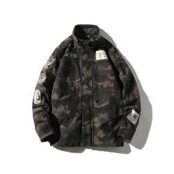 Commerce de gros 100% Polyester Camouflage rembourrage en coton d'hiver en plein air Down Jacket pour les hommes