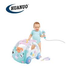 3 в 1 новые пластмассовые игрушки клавишного соломотряса малыша обучение малыша с помощью света и музыки