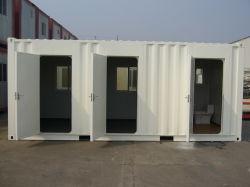 Contentor Prefab Modular Móvel/pré-fabricadas em aço Móveis para casa com as janelas em PVC