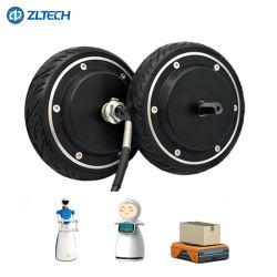 6.5inch 24V 150W 6.5n. [م] كهربائيّة [دك] كثّ مكشوف مؤخرة صرة محاكية عجلة لأنّ [أغف] الإنسان الآليّ
