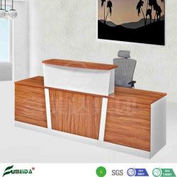 Panneau de l'entreprise de réception de la mode Table Office Réception moderne