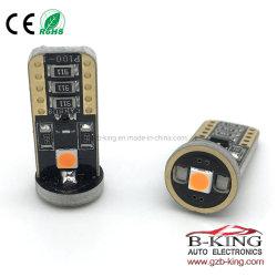 Accessoires auto d'éclairage automobile Canbus de lumière LED sans erreur T10 LED Lampe automatique