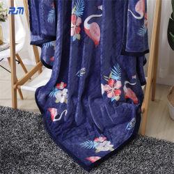 Solid Color Bed-Sheet doux chaleureux textiles Couverture de laine polaire