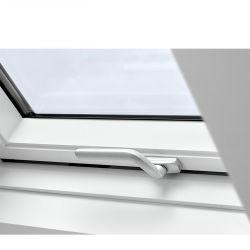 تصميم حديث بسيط UPVC مفصلة النافذة S، وWater Sound Storm مقاومة لعاصفة الزجاج المقسى أعلى نافذة Hung PVC