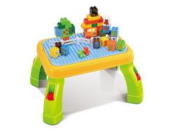 Attraktiver Plastikspielwaren-Aktivit?ts-Spiel-Tisch gesetztes 49PCS Tisch-Spielzeug erlernend
