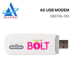 LG302 Lyngou Color nuevo E8372 E8372H-153 150Mbps 4G LTE CAT 4 USB dongle WiFi móvil módem USB 4G LTE