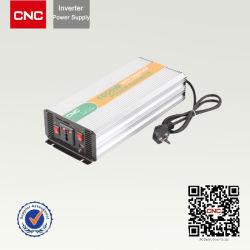 Cnc-Maschinen-Prägerot anodisieren Aluminiumapparateeinheit/elektrischen Auto-Energien-Inverter DC12V Aufladeeinheits-Konverter zum Wechselstrom-110V
