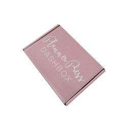 Comercio al por mayor impresas de logotipo personalizado cajas de cartón ondulado Embalaje de papel ropa Mailer