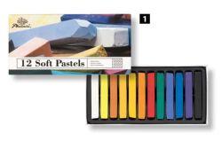 Student die van de Tekening van de Jonge geitjes van de kunst de Kleurrijke de Vierkante Zachte Pastelkleur van het Krijt schildert