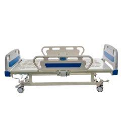 2 mango ABS barandilla de balanceo, Médico de la cama de Hospital