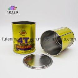 熱いSale Metal Capsの301 401 Easy Opening Seal Can Round Empty Easy Opening Tin Can