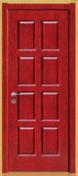 純粋な純木のドア