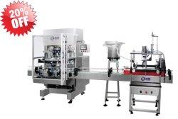 자동 샴푸, Serum Liquid 6 Nozzles Filling Filler Machine with CE Certificate