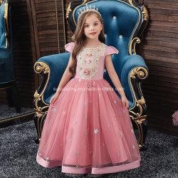 Пять цветных принцессы платье ребенка износ одежды для детей детской одежды Одежда детей одежды Одежда Одежда малыша девочка усовершенствованная одежды для детей девочек