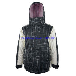 아이들 아이 재킷을 하이킹하는 남녀 공통 옥외 방수 인쇄된 Microfiber 겨울에 의하여 덧대지는 스키