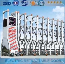 Электрический из нержавеющей стали складной двери/складная дверца и дверца/электрические телескопические дверь (YJSS-19)