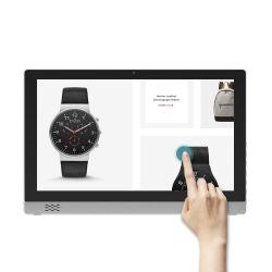 Les éléments de promotion de 21,5 pouces Tablet sous Android La publicité interactive écran tactile