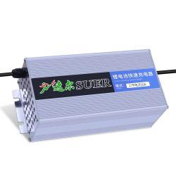 핫 세일 16s 67.2V LiPo 리튬 이온 배터리 충전기 60V 4a 전기 자전거 스쿠터 휠체어 등을 위한 리튬 배터리