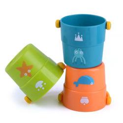 [هيغقوليتي] لعبة عبث [وتر بوكت] يكدّر فنجان حمام وقت حالة لهو لأنّ طفلة