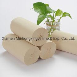 도매는 3개 가닥 층 코어 목욕탕 Tissue/3 가닥 대나무 화장지 또는 화장지 롤을 인쇄했다