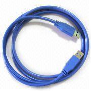 USB van uitstekende kwaliteit 3.0 een Mannetje aan een Mannelijke Kabel