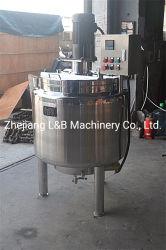 Leite Esterilizador de pasteurização de aquecimento eléctrico de depósito de mistura