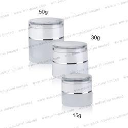 Winpack Hot Pot de crème de verre produit cosmétique 15g 30g 50g Soins du visage d'emballage vide