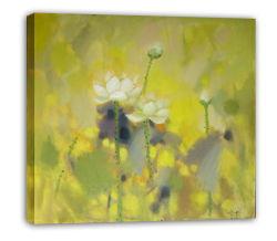 Paesaggio Waterlily - 004 di Impressionism su pittura a olio