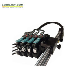 De multi Printer UVInkjet van Inkjet van de Kleur