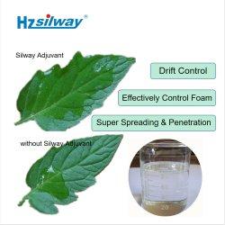 Silway 240 poliéster modificado de siloxano surfactante agrícolas produto adjuvante de Silicone