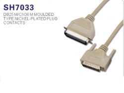 IEEE1284 dB25, Cn36 параллельный кабель для принтера (SH7033)